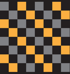 Abstract chess squares geometric pattern vector