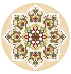 Antique ottoman turkish pattern design twenty nine vector
