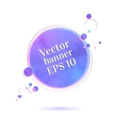 Banner vector
