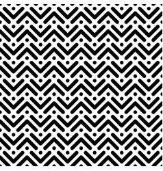 herringbone monochrome seamless pattern in flat vector image vector image