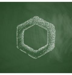 Polygon icon vector