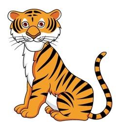 Tiger cartoon vector