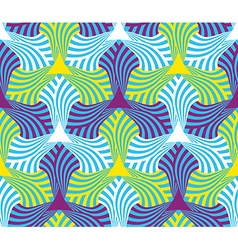 Geometric abstract seamless pattern motif vector