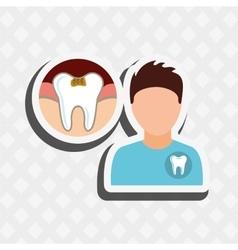 Professional dentist design vector