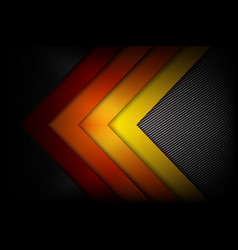 Abstract red orange yellow background dark and vector