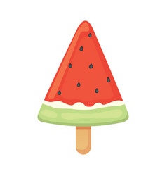 ice cream summer food vector image vector image