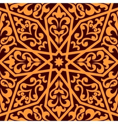 Islamic or Arabic seamless pattern vector image