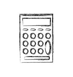 School calculator math number counts vector