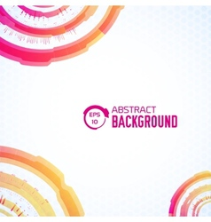 tech abstract background concept for you design vector image