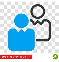 Clients eps icon vector
