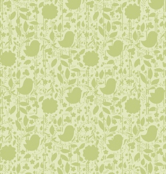 Neutral floral background swirl and curve vector
