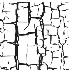 Cracked texture vector