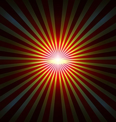 Background with radial rays vector