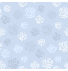 Pattern with polka dots or snowing vector