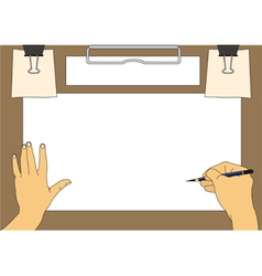 Drawing background vector image vector image