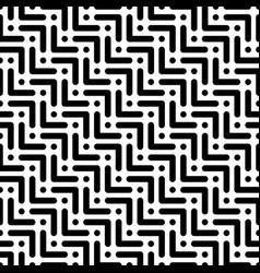 herringbone monochrome seamless pattern in flat vector image