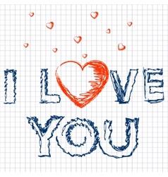 Love - letter vector