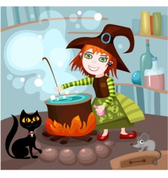 Witches brew vector