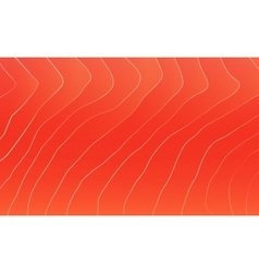 Red salmon texture vector