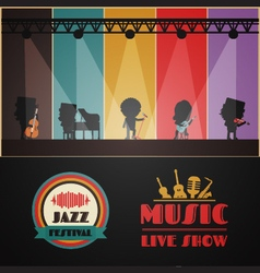 240classical stage vector image