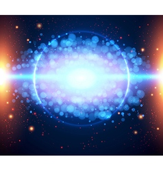 Abstract cosmic light background eps 10 vector