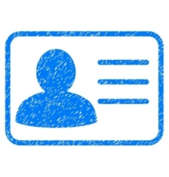 Account card grainy texture icon vector