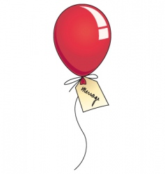 message balloon vector image vector image