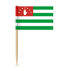 Flag of abkhazia 10eps vector