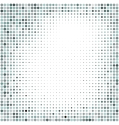Colorful halftone backgroundhalftone dots frame vector