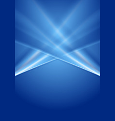 abstract deep blue gradient background vector image vector image