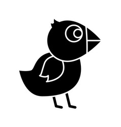 Chicken bird icon vector