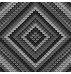 Dark grey abstract circles pattern vector