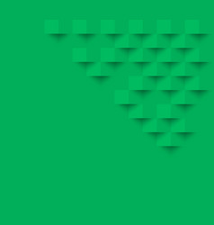 green square geometric texture background vector image