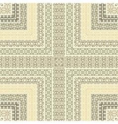 Retro lines vector image vector image