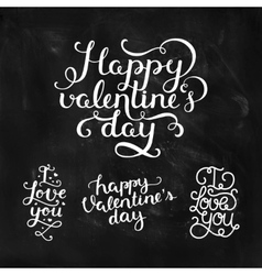 Valentines day photo overlays vector