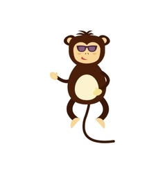 Monkey icon vector