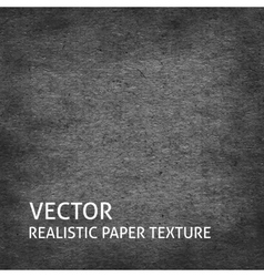 Dark grey paper background vector