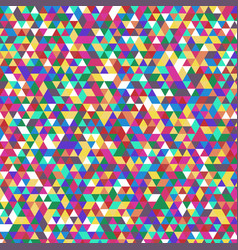 abstract triangular pattern vector image