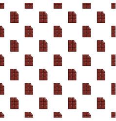 Chocolate bar pattern vector