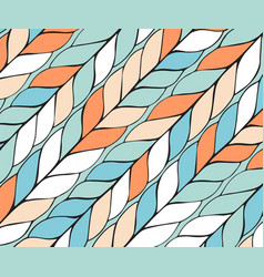 Diagonal background pattern of braids endless vector