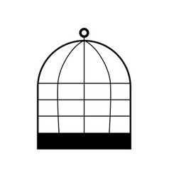iron cage vector image vector image