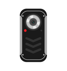mobile phone camera vector image