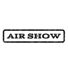 Air show watermark stamp vector