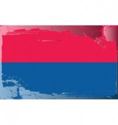 Liechtenstein national flag vector image