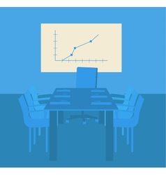 Decision-making room Working in an office vector image vector image