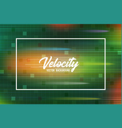 velocity background 03 high speed and hi vector image