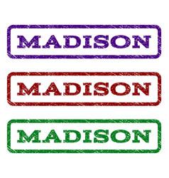 Madison watermark stamp vector