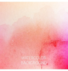 Abstract watercolor background for your design vector