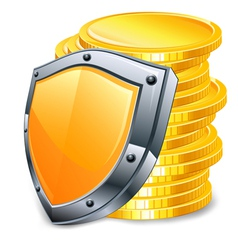 bank security vector image vector image