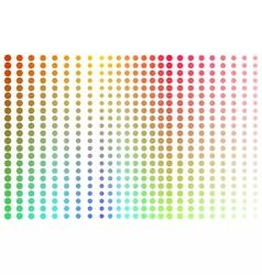 Dotspots vector image vector image